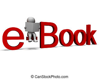 szó, ebook, electronic library, látszik