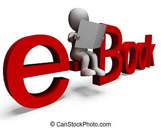 szó, kiállítás, ebook, electronic library
