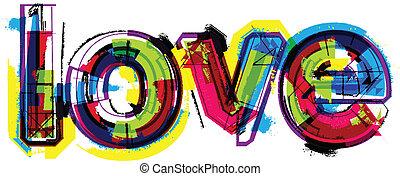 szó, szeret, művészi