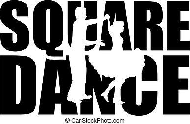 szó, táncol, kapcsoló, derékszögben