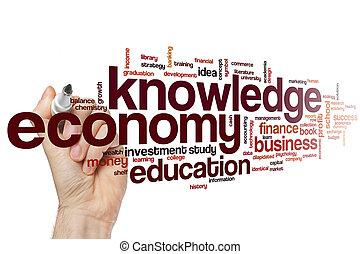szó, tudás, felhő, gazdaság