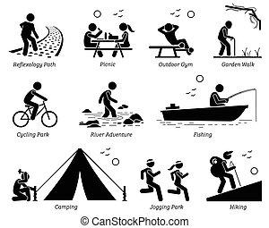 szórakozási, életmód, outdoor pihenés, activities.