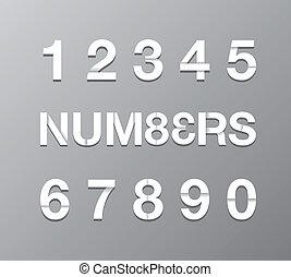 szöveg, dolgozat, szám