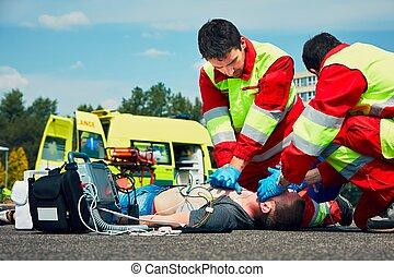 szükségállapot szolgáltatás, orvosi