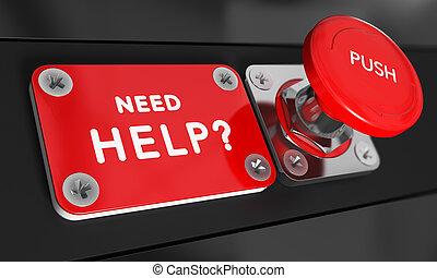 szükség, segítség