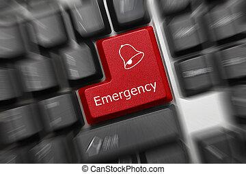 szükséghelyzet, kulcs, -, gyertya, effect), (red, billentyűzet, fogalmi
