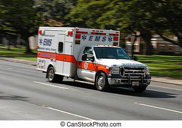 szükséghelyzet, orvosi, elmaszatol javasol, gyorshajtás, szolgáltatás, mentőautó