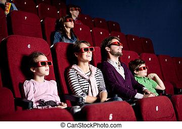 szülők, gyerekek, mozi