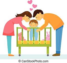 szülők, szerető