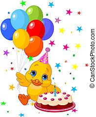 születésnap, duckling's