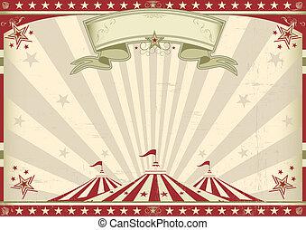 szüret, horizontális, cirkusz