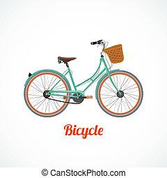 szüret, jelkép, bicikli