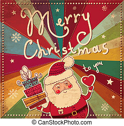 szüret, karácsonyi üdvözlőlap