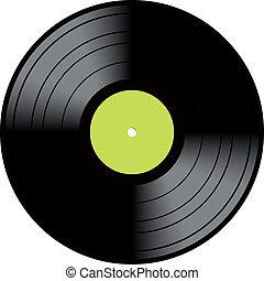 szüret, korong, vinyl, mikrobarázdás lemez, hanglemez