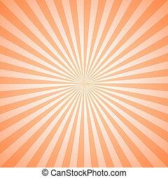 szüret, radiális, megvonalaz, motívum, geometriai, rövid napsütés