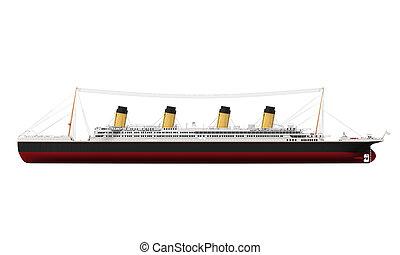 szüret, személyszállító hajó, óceán