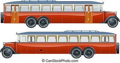 szüret, személyszállító hajó, autóbusz
