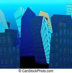 szürrealista, város