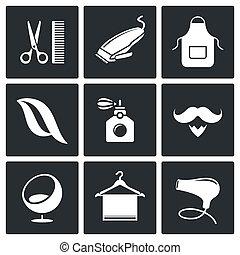 szőr salon, gyűjtés, ikon