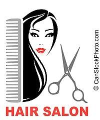 szőr salon, ikon