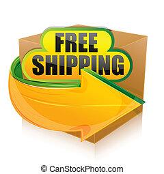 szabad, hajózás