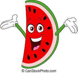 szelet, görögdinnye
