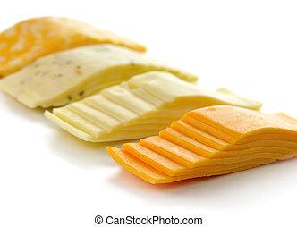 szelet, sajt