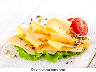 szelet sajt