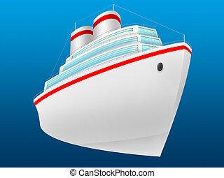 személyszállító hajó, óceán