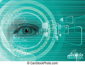 szem, digitális