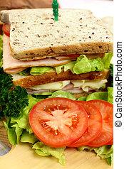 szendvics, saláta