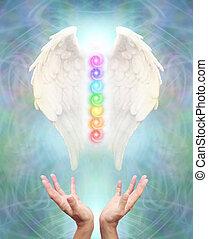 szent, angyal, chakra, gyógyulás
