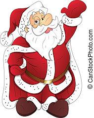 szent, vektor, karácsony, ábra