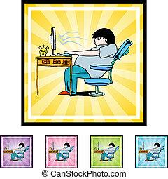 szenvedély, számítógép