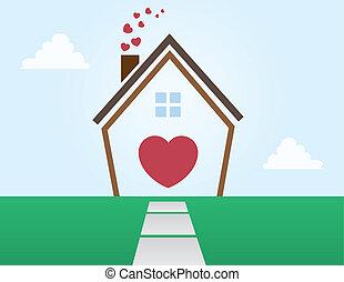 szeret, épület, áttekintés
