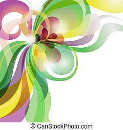 szeret, ünnepies, elvont, téma, háttér, színpompás