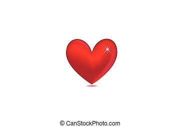 szeret, jel, valentines nap, szív