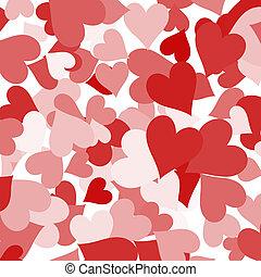 szeret, kiállítás, valentines, románc, dolgozat, háttér, piros