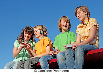 szerkentyű, gyerekek, elektromos, technológia, játék