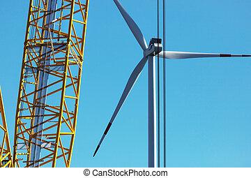 szerkesztés, turbina, felteker, házhely, modern