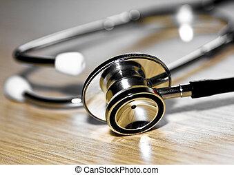 szerszám, medikus, sztetoszkóp