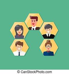 szervezet, diagram, ügy