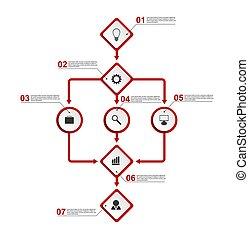 szervezet, template., diagram