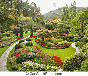 sziget, sunken-garden, vancouver