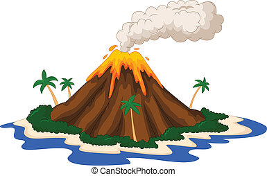 sziget, vulkanikus