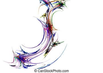 szivárvány, fractal