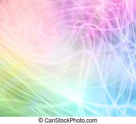 szivárvány, háttér, színezett