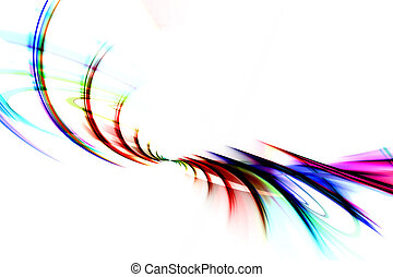 szivárvány, kavarog, fractal, színes