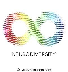 szivárvány, loop., végtelenség, neurodiversity, jelkép.