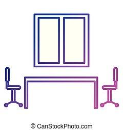 szoba, gyűlés, színhely, ügy, bizottság